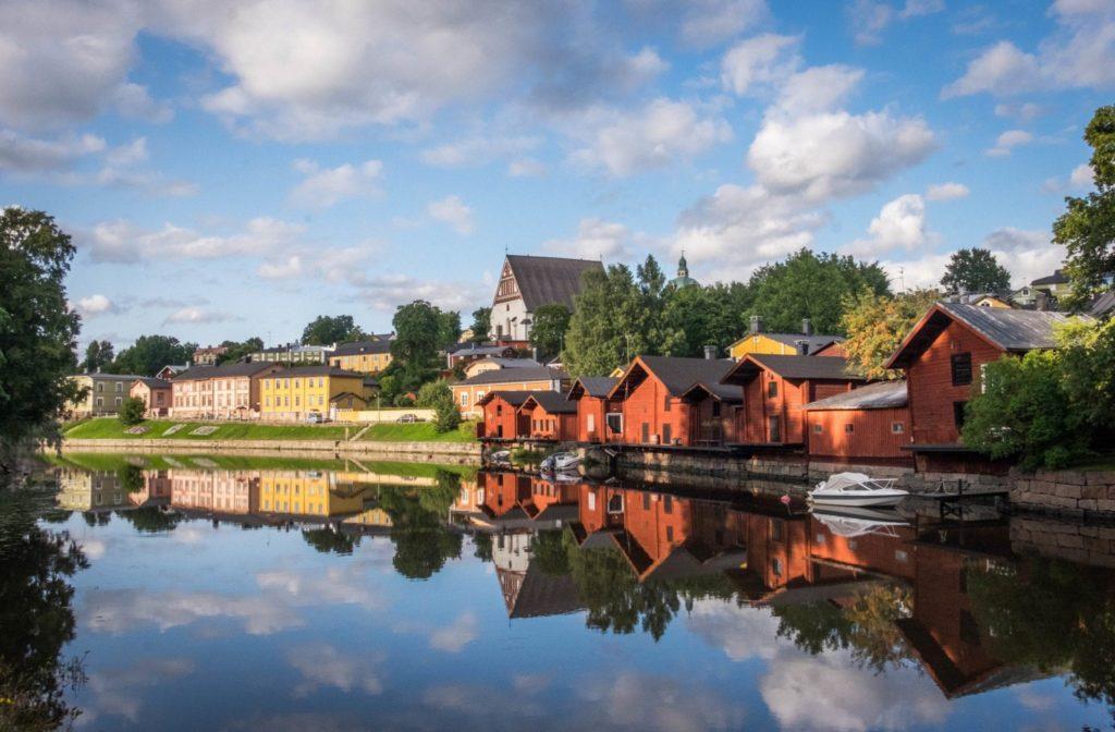 в Финляндии красивая и чистая природа